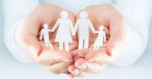 hands woman expresses the concept of family; page: preconception counseling